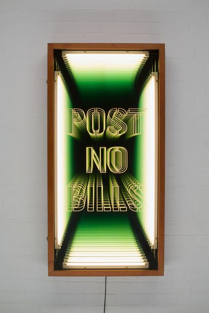 , 'Post no Bills,' 2016, Baró Galeria