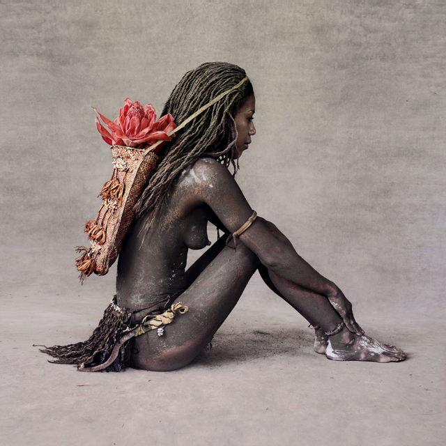 , 'Young Woman with Red Ginger Flower, New Guinea,' 2013, Addicted Art Gallery
