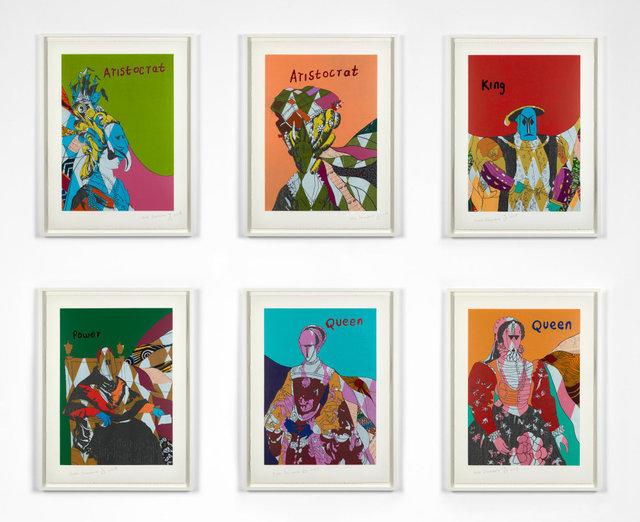 Yinka Shonibare CBE, 'Unstructured Icons', 2018, Stephen Friedman Gallery