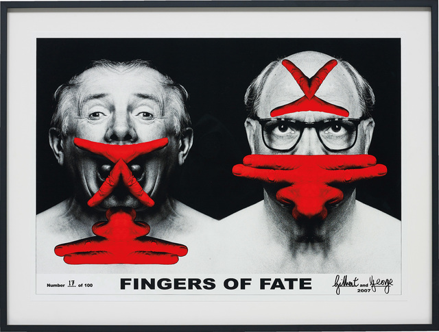Gilbert and George, 'Fingers of Fate', 2007, Phillips