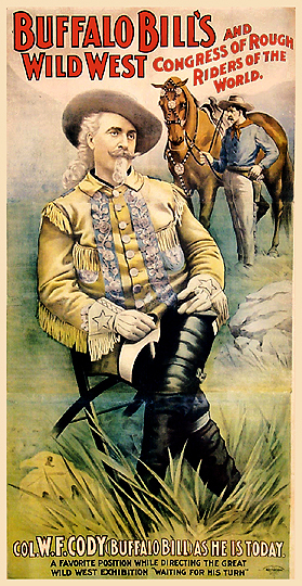 , 'BUFFALO BILL'S WILD WEST & CONGRESS OF ROUGH RIDERS OF THE WORLD - WESTERN,' 1905, Omnibus Gallery
