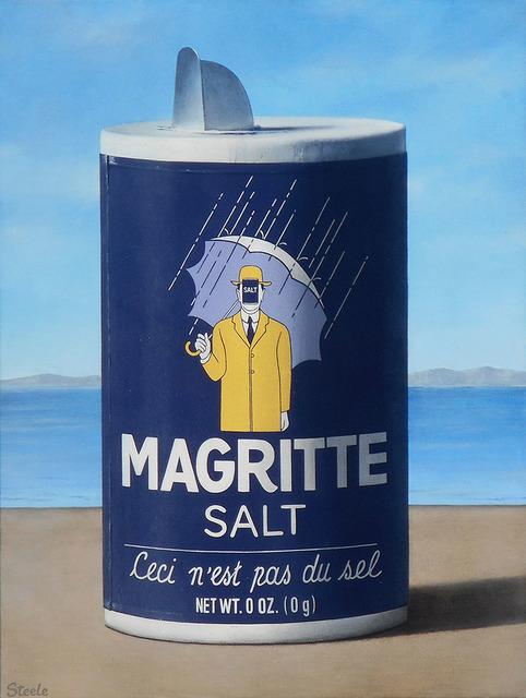 , 'Magritte Salt,' 2018, CODA Gallery