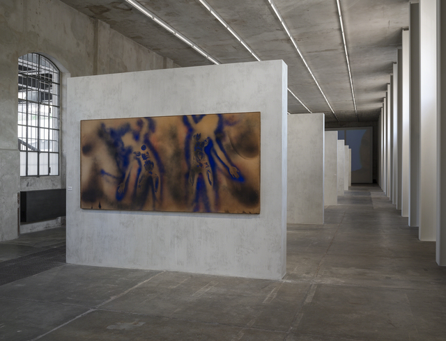 , 'Peinture feu coleur sans titre (FC 1),' 1962, Fondazione Prada