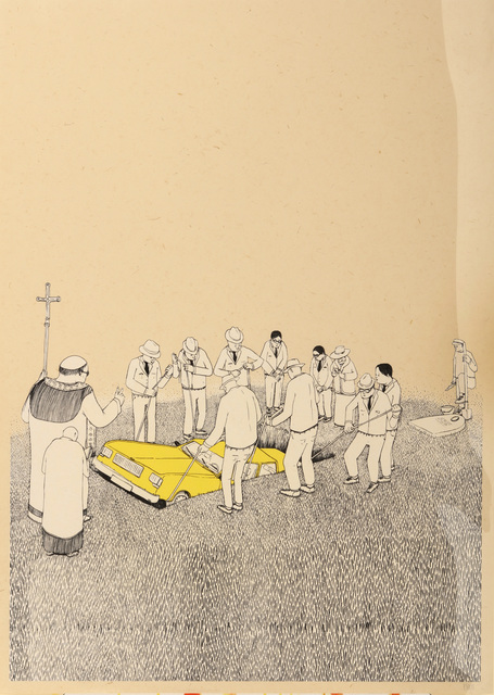 Blu, 'Funeral', 2007, Chiswick Auctions