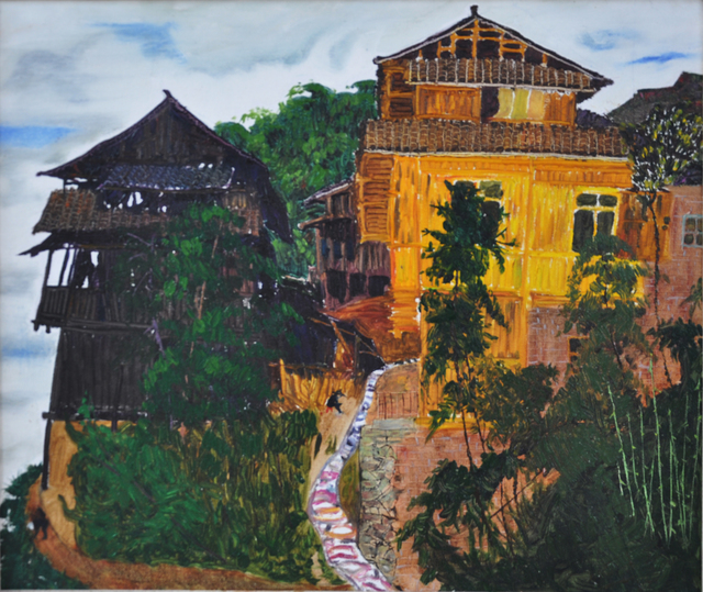 , 'Fenced Village on Highlands,' 2013, Gallery LVS