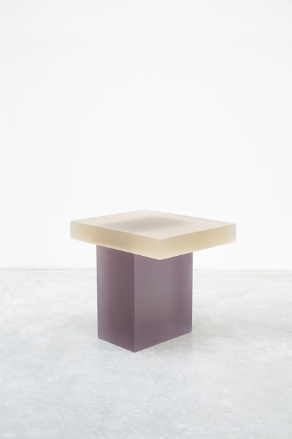 , 'Haze Stool (Yellow and Purple),' 2015, Carpenters Workshop Gallery