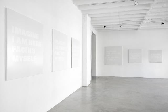 Remy Zaugg, 'I, myself.', 2002/2003, Galerie Nordenhake