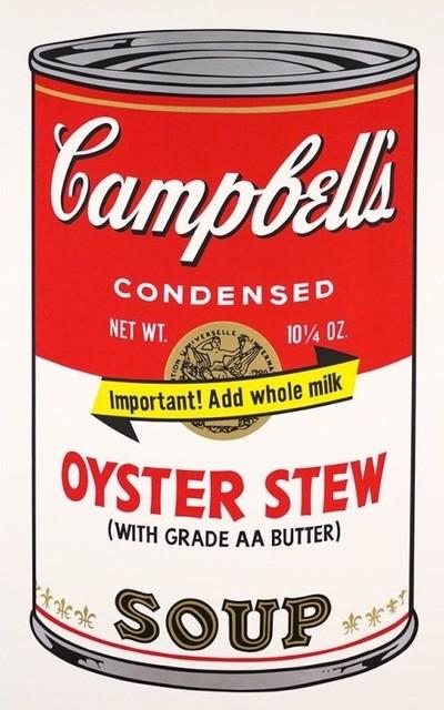 Andy Warhol, 'Campbells Soup Oyster Stew II.60', 1969, Print, Screenprint on paper, OSME Fine Art