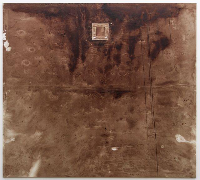 Hermann Nitsch, 'Relikt (Stiertragetuch, 155. Aktion)', 2018, Galerie Elisabeth & Klaus Thoman