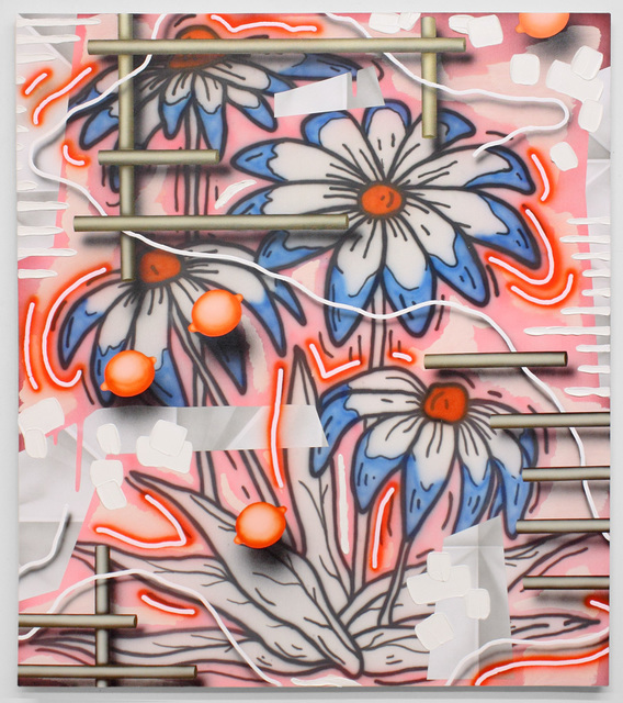 , 'Flowers (pink),' 2017, Luis De Jesus Los Angeles