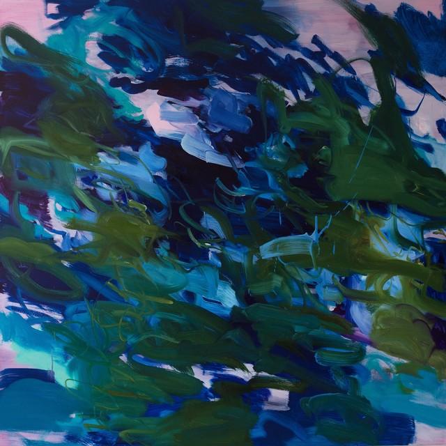 , 'Untitled (phalo-iragazine-turquoise),' 2017, Cadogan Contemporary