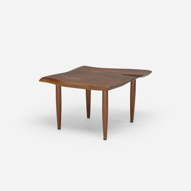Phillip Lloyd Powell, 'occasional table', c. 1960, Design/Decorative Art, American black walnut, ebony, Rago/Wright