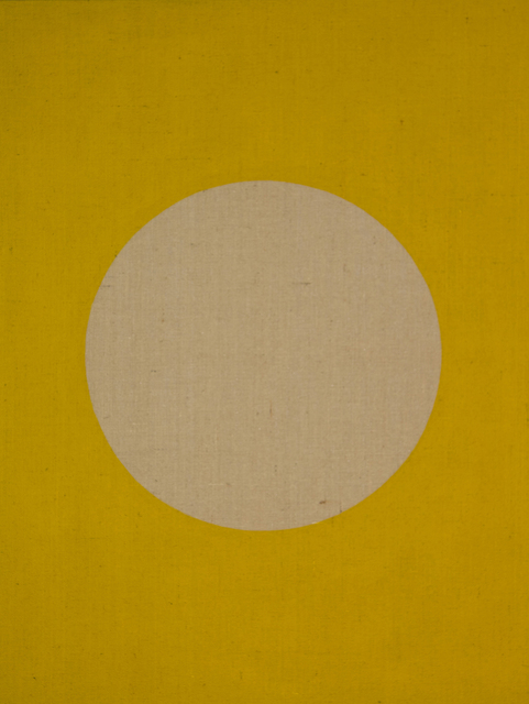 , 'Yellow (Moon) Exterior Día,' 2018, Christopher Grimes Projects