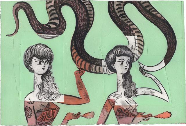, 'Snake Charmers,' 2016, Horton Gallery