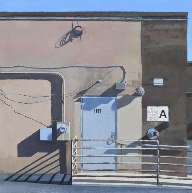 , 'A-Entrance,' 2018, George Billis Gallery