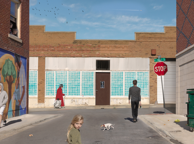 , 'Olive & Market Street,' 2012, Robert Mann Gallery