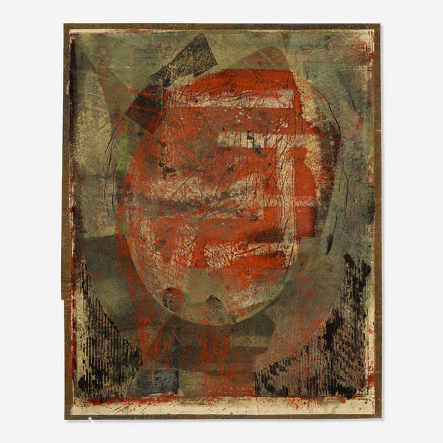 Toti Scialoja, 'Untitled', Painting, Oil on paper, Rago/Wright