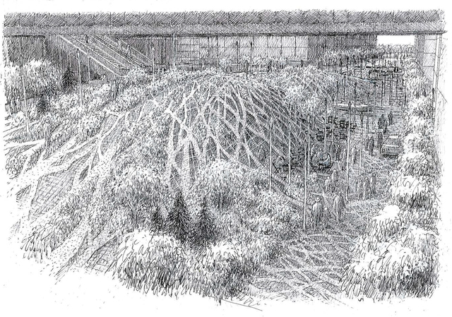 , 'Urban Forest - New World Plaza - Bejing,' 2008, Rhona Hoffman Gallery