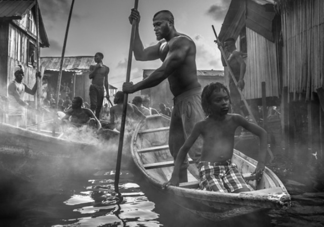 David Yarrow, 'A Ship Called Dignity', 2017, Maddox Gallery