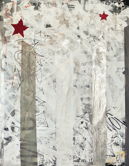 Sen-1, 'Patriotic', 2020, Painting, Oil-based spray paints and inks on canvas, Galerie d'Orsay