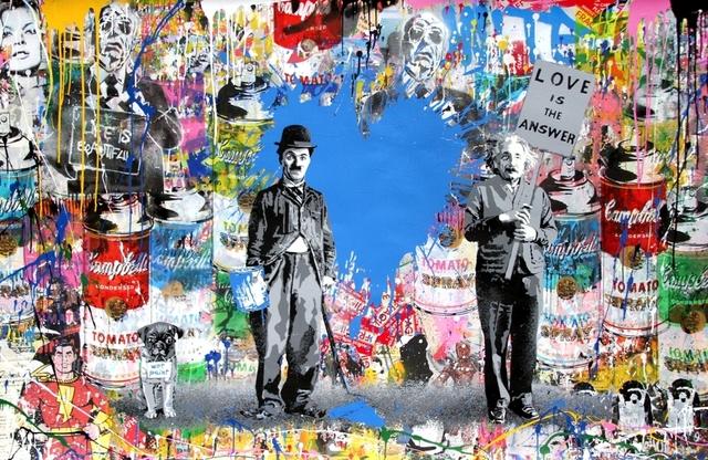 Mr. Brainwash, 'Juxtapose', 2018, Taglialatella Galleries