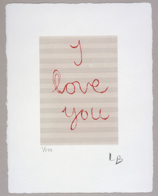 , 'I Love You,' 2007, Carolina Nitsch Contemporary Art