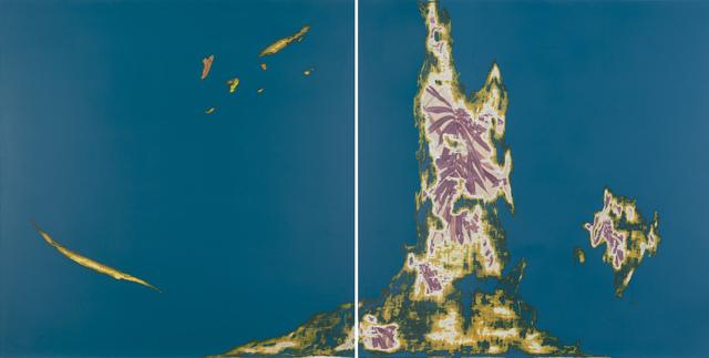 , 'Landscape of the Night-4,' 2017, Aki Gallery