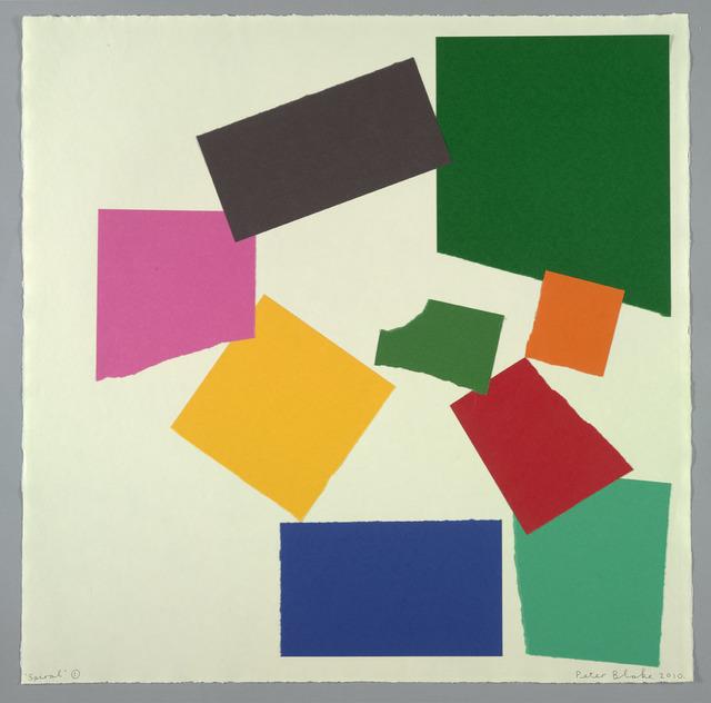 Peter Blake, 'Spiral 1 (in homage to Henri Matisse)', 2010, Waddington Custot