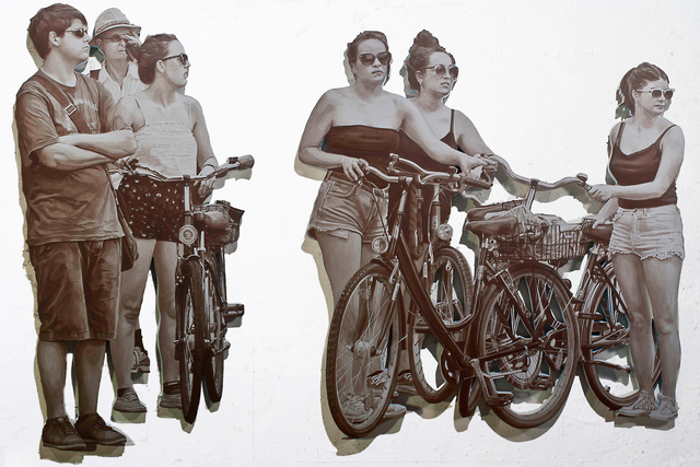 , 'Cyclists,' 2013, Gary Tatintsian Gallery