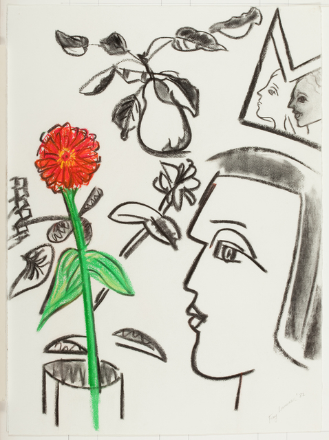 , 'Heads and Flowers,' 1982, Quogue Gallery