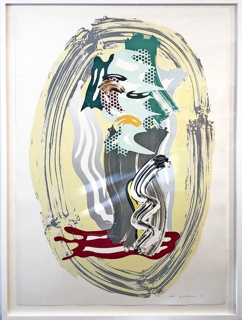 Roy Lichtenstein, 'Green Face from Brushstroke Figures Series ', 1989, Fine Art Mia