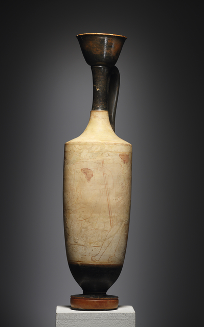 , 'A Large White-ground Lekythos, Attributed to the Triglyph Painter,' Attic-ca. 410 B.C., Cahn International