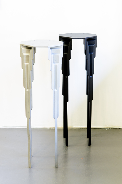 , 'Tier tables,' 2013, Southern Guild