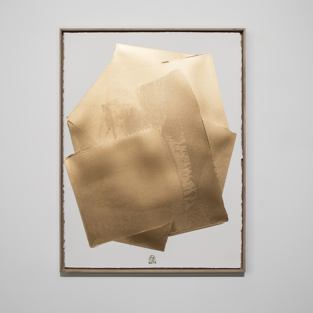, 'Furoshiki Bronze 13,' 2016, Leclaireur