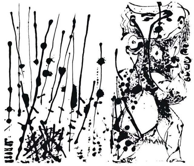 Jackson Pollock, 'Untitled - Expression no. 1 ', 1964, Wallector