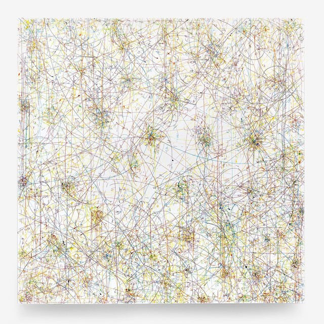 , 'Blow Up 297- subatomic decay patterns,' 2016, SPONDER GALLERY