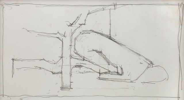 , 'Drawing for Girl with Tree,' , Piano Nobile