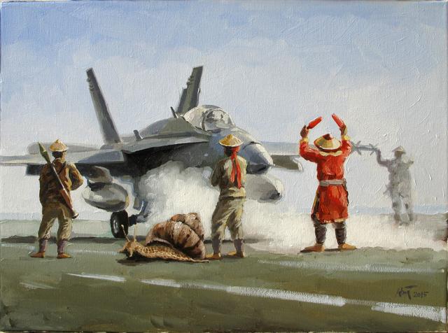 , 'Snail on Runway,' 2015, Art Vietnam Gallery