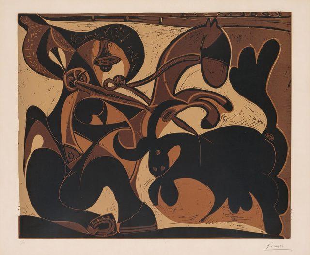 Pablo Picasso, 'LA PIQUE (B. 911)', 1959, Doyle