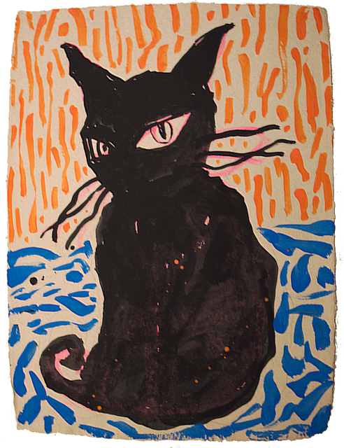 , 'Black Cat,' 2016, Inna Art Space