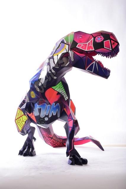 Richard Orlinski, 'T-Rex', 2021, Sculpture, Resin, Inception Gallery