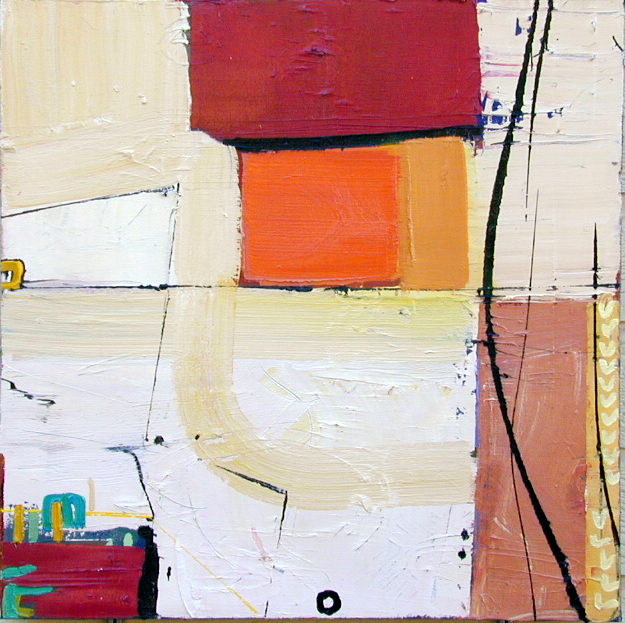 Chris Hayman, 'Domino #2', Painting, Oil on canvas, Zenith Gallery