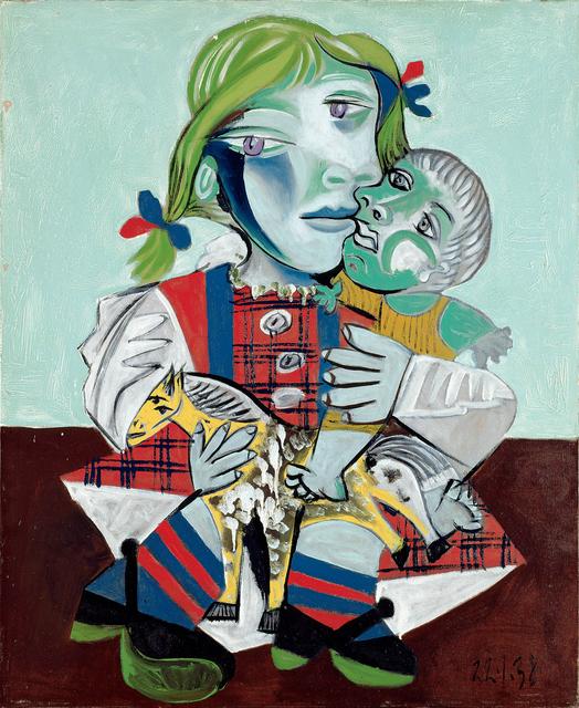 , 'Maya à la poupée et au cheval,' 1938, Gagosian