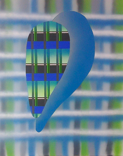 Péter Somody, 'Magnification blue-green', 2017, Ani Molnár Gallery