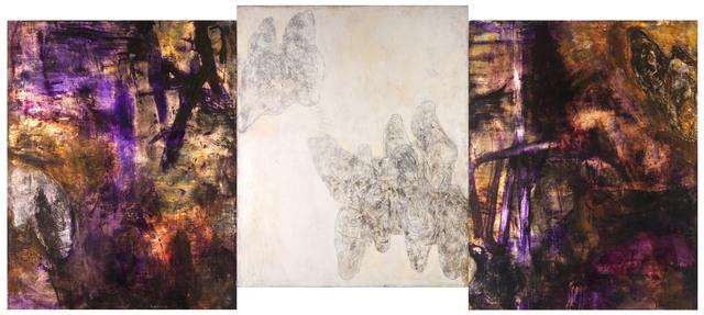 , 'SUBSTANCE, SPIRIT & SHADOW (T'AO CH'IEN 7TH C) (triptych) VERSION II,' 2010-2014, MARUANI MERCIER GALLERY