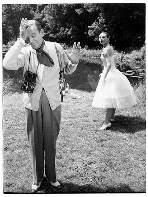, ' Fred Astaire et Audrey Hepburn, Chantilly,' 1956, Galerie Dumonteil