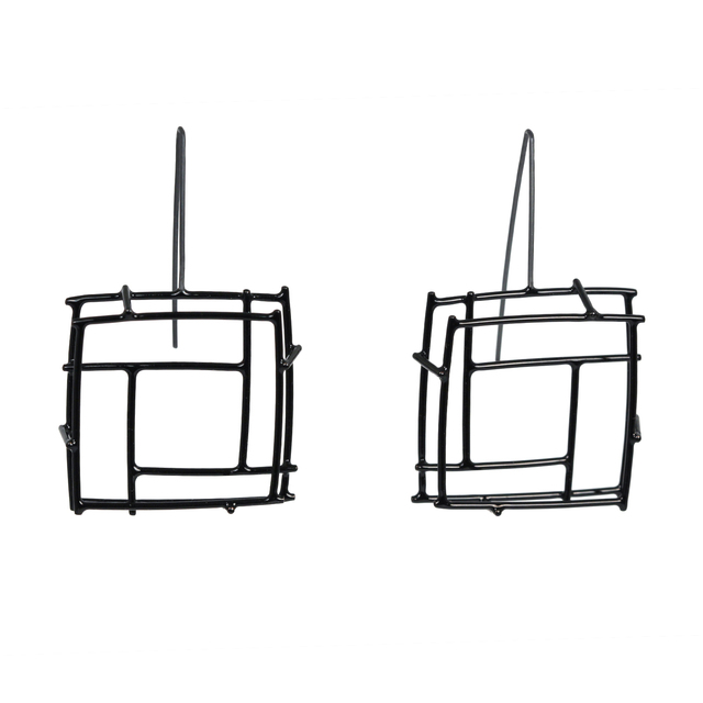, 'Black Square Structure, Earrings,' 2015, The Gallery at Reinstein|Ross