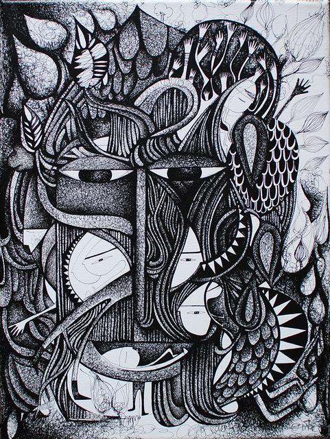 , 'Melting Pot 1,' 2018, Galerie Artefact