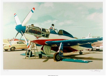 Tom Blackwell, 'Red, White & Blue Mustang,' Circa 1981, Heritage Auctions: Valentine's Day Prints & Multiples