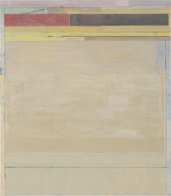 Richard Diebenkorn, 'Ocean Park #124', 1980, Painting, Oil and charcoal on canvas, Richard Diebenkorn Foundation